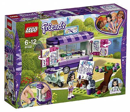 Brinquedo - LEGO Friends - A Banca de Arte da Emma - 41332