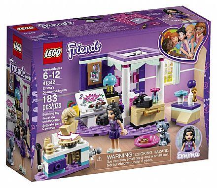 Brinquedo - LEGO Friends - O Quarto da Emma - 41342