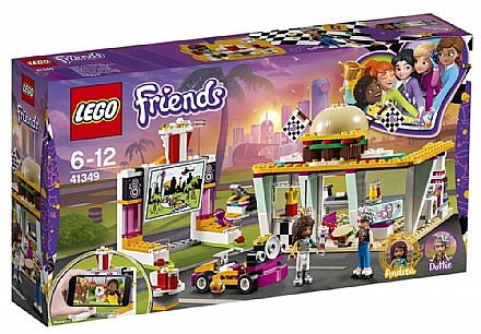 Brinquedo - LEGO Friends - O Restaurante Drifting - 41349