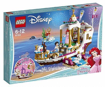 Brinquedo - LEGO Princesas Disney - Barco de Celebração Real da Ariel - 41153