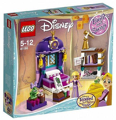 Brinquedo - LEGO Princesas Disney - Quarto do Castelo da Rapunzel - 41156