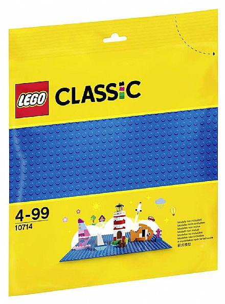 Brinquedo - LEGO Classic - Base de Construção Azul - 10714