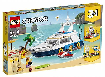 Brinquedo - LEGO Creator - Aventuras no Cruzeiro - 31083