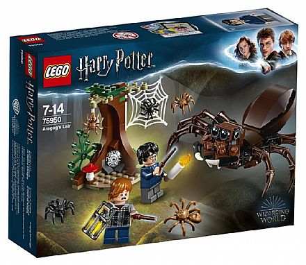 Brinquedo - LEGO Harry Potter - O Covil de Aragogue - 75950