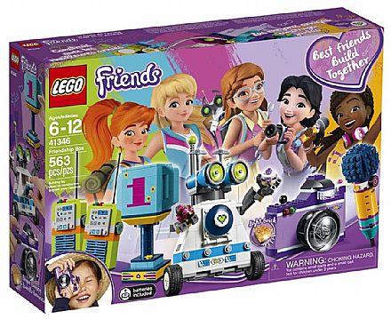 Brinquedo - LEGO Friends - Caixa da Amizade - 41346