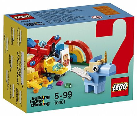 Brinquedo - LEGO Building Bigger Thinking - Diversão no Arco-íris - 10401
