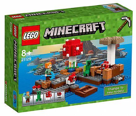 Brinquedo - LEGO - A Ilha dos Cogumelos - 21129