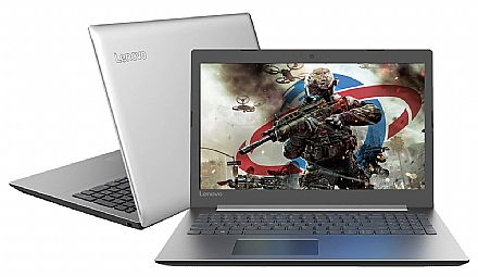 "Notebook - Notebook Lenovo Ideapad 330 - Tela 15.6"" HD, Intel i5 8250U, 20GB, SSD 480GB, GeForce MX150 2GB, Windows 10 - 81FE0001BR"