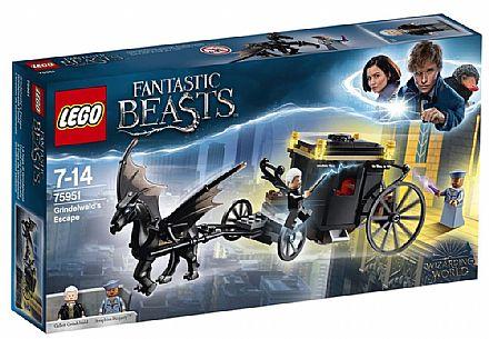 Brinquedo - LEGO Animais Fantásticos - A Fuga de Grindelwald - 75951