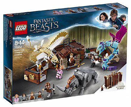 Brinquedo - LEGO Animais Fantásticos - A Mala de Criaturas Magicas de Newt - 75952