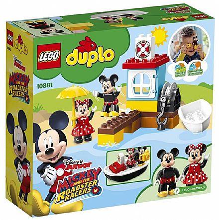 Brinquedo - LEGO Duplo - O Barco do Mickey - 10881