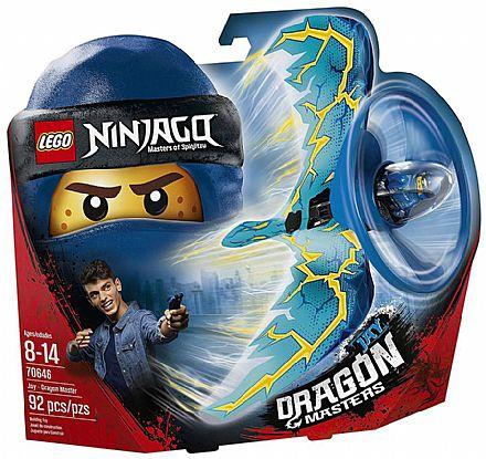 Brinquedo - LEGO Ninjago - Jay: Mestre Dragão - 70646
