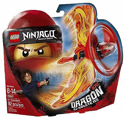 Brinquedo - LEGO Ninjago - Kai - Mestre Dragão - 70647