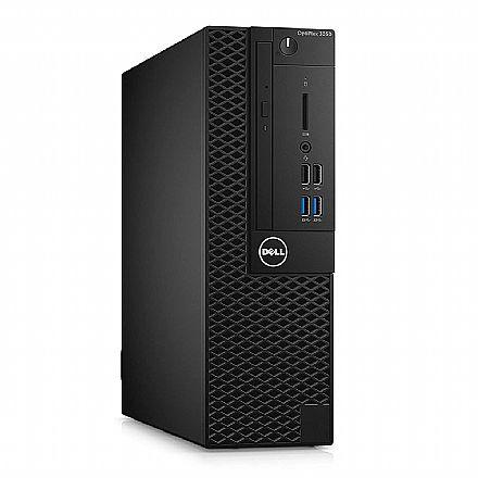 Computador - Computador Dell OptiPlex 3050 Small Desktop - Intel i5 6500, 4GB, HD 500GB, DVD - Windows 10 Pro - Garantia 1 ano - Outlet