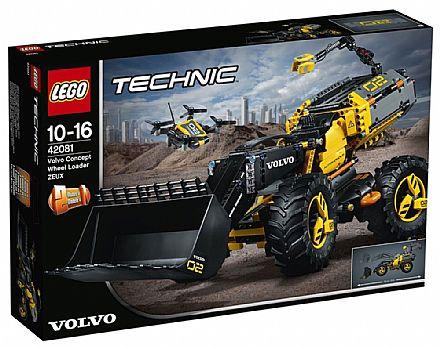 Brinquedo - LEGO Technic - Modelo 2 em 1: Conceitos Volvo ZEUX - 42081
