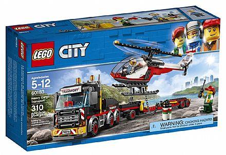 Brinquedo - LEGO City - Transporte de Carga Pesada - 60183