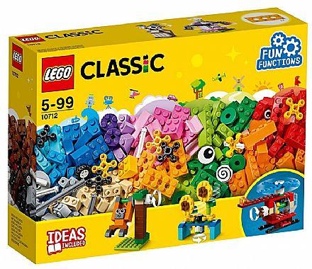 Brinquedo - LEGO Classic - Peças e Engrenagens - 10712
