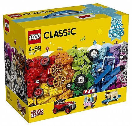 Brinquedo - LEGO Classic - Peças Sobre Rodas - 10715