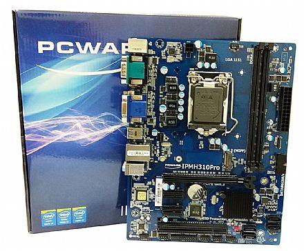 Placa Mãe para Intel - PCWare IPMH310 PRO (LGA 1151 - DDR4 2400) Chipset Intel H310 - Slot M.2 - Micro ATX