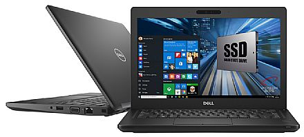 "Notebook - Notebook Dell Latitude 12 5290 - Tela 12.5"" HD, Intel i5 7300U, 8GB DDR4, SSD 128GB, Windows 10 Pro - Outlet"