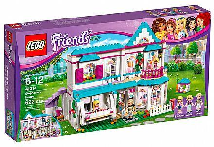 Brinquedo - LEGO Friends - A Casa da Stephanie - 41314