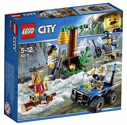 Brinquedo - LEGO City - Fugitivos da Montanha - 60171