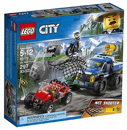 Brinquedo - LEGO City - Perseguição em Terreno Acidentado - 60172