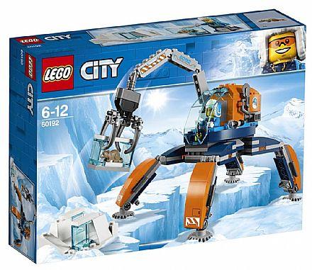 Brinquedo - LEGO City - Máquina de Exploração no Gelo - 60192
