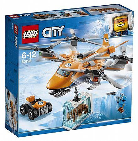 Brinquedo - LEGO City - Transporte Aéreo pelo Ártico - 60193