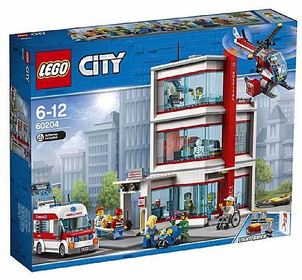 Brinquedo - LEGO City - Hospital da Cidade - 60204
