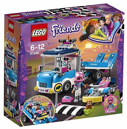 Brinquedo - LEGO Friends - Caminhão de Serviço - 41348