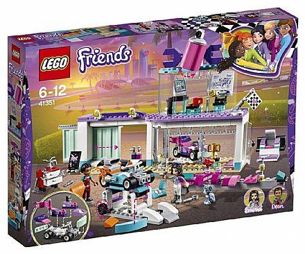 Brinquedo - LEGO Friends - Loja Criativa de Tunning - 41351