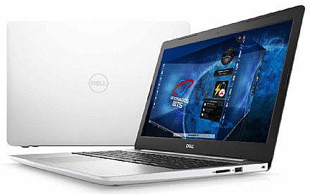 "Notebook - Dell Inspiron i15-5570-U31B - Tela 15.6"" Full HD, Intel i7 8550U, 8GB, SSD 240GB, Video Radeon 530 4GB, Linux - Branco - Outlet"