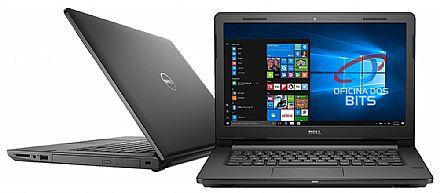 "Notebook - Dell Vostro 3468 - Tela 14"" HD, Intel i5 7200U, 8GB, HD 1TB, DVD, Windows 10 Pro - Garantia 1 ano - Outlet"