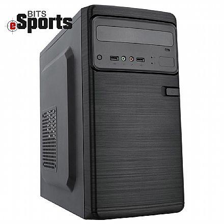 Computador Gamer - PC Gamer Bits eSports - AMD FX-8370, 4GB, HD 1TB, Nvidia Geforce GTX 1050 Ti