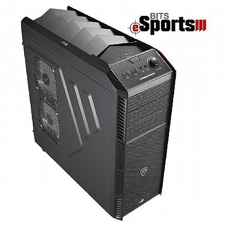 Computador Gamer - PC Gamer Bits eSports III - AMD FX-8370, 8GB, HD 500GB, Nvidia GeForce GTX 1050