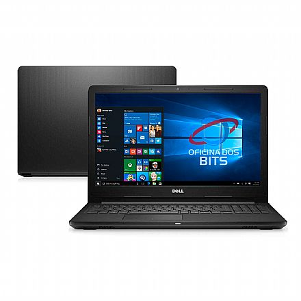 """Notebook - Notebook Dell Inspiron i15-3573-M10P - Tela 15.6"""" HD, Intel Pentium Silver N5000, 4GB, HD 1TB, Windows 10 - Outlet"""