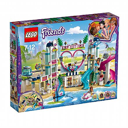 Brinquedo - LEGO Friends - Resort da Cidade de Heartlake - 41347