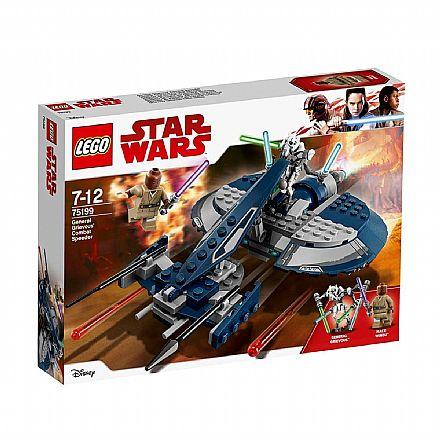 Brinquedo - LEGO Star Wars - Speeder de Combate do General Grievous - 75199