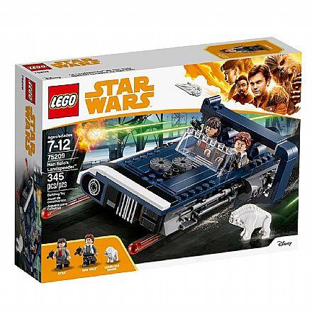 Brinquedo - LEGO Star Wars - O Landspeeder do Han Solo - 75209