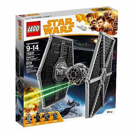 Brinquedo - LEGO Star Wars - Imperial TIE Fighter - 75211