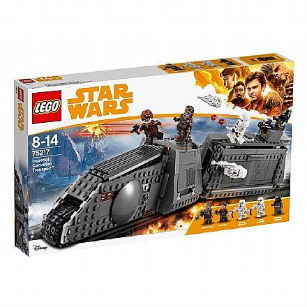 Brinquedo - LEGO Star Wars - Transporte Imperial Conveyex - 75217