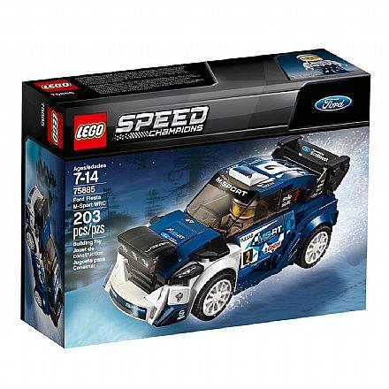 Brinquedo - LEGO Speed Champions - Ford Fiesta M-Sport WRC - 75885