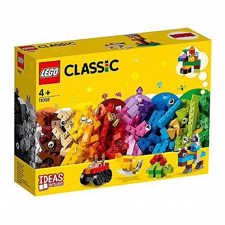 Brinquedo - LEGO Classic - Conjunto de Peças Básicas - 11002