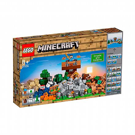Brinquedo - LEGO Minecraft - A Caixa de Minecraft 2.0 - 21135
