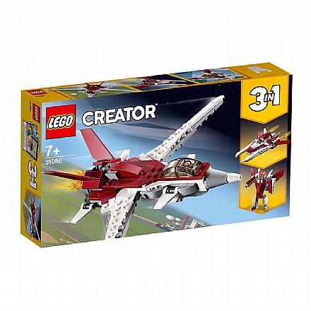 Brinquedo - LEGO Creator - Modelo 3 em 1: Voos Futuristas - 31086