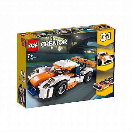 Brinquedo - LEGO Creator - Modelo 3 em 1: Piloto do Pôr do Sol - 31089