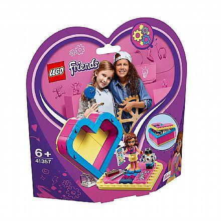 Brinquedo - LEGO Friends - Caixa de Coração da Olivia - 41357