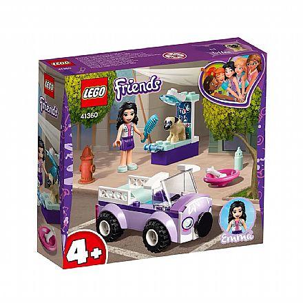 Brinquedo - LEGO Friends - Clínica Veterinária Móvel da Emma - 41360