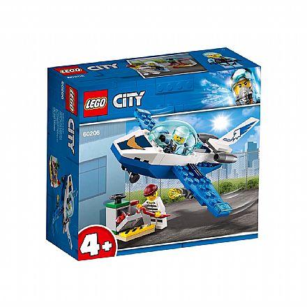 Brinquedo - LEGO City - Patrulha Aérea - 60206